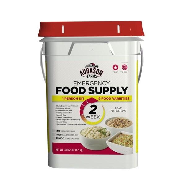 Augason Farms 2 Week 1 Person Emergency Food Supply Kit