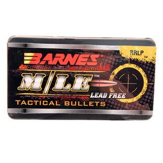 Barnes Bullets TAC 7.62X39mm, 108 Grain, Reduced Ricochet Low Penetration Flat Base, Per 50