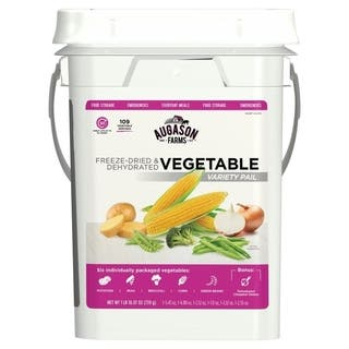 Augason Farms Freeze Dried Vegetable Variety Pack 4 Gallon Kit https://ak1.ostkcdn.com/images/products/14389462/P20960867.jpg?impolicy=medium
