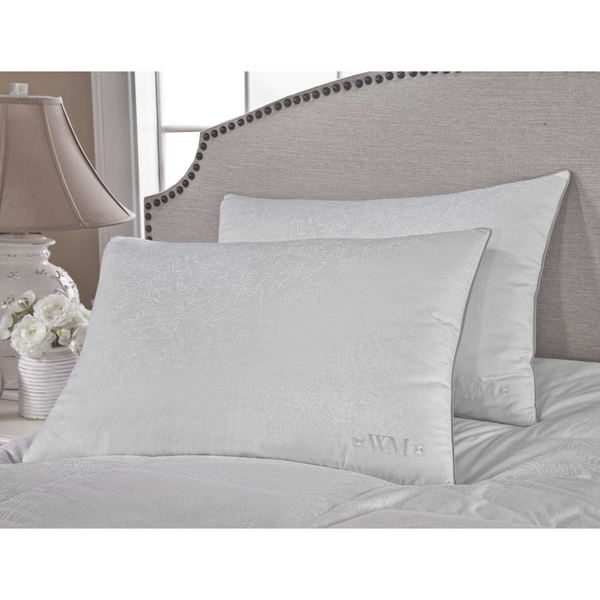 Wesley Mancini Collection Goose Down Pillow - White