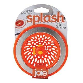 Joie Splash Orange Plastic Kitchen Sink Strainer Basket