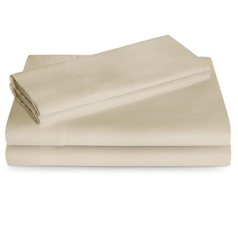 Linenspa 600 Thread Count Cotton Blend Pillowcases (Set of 2)