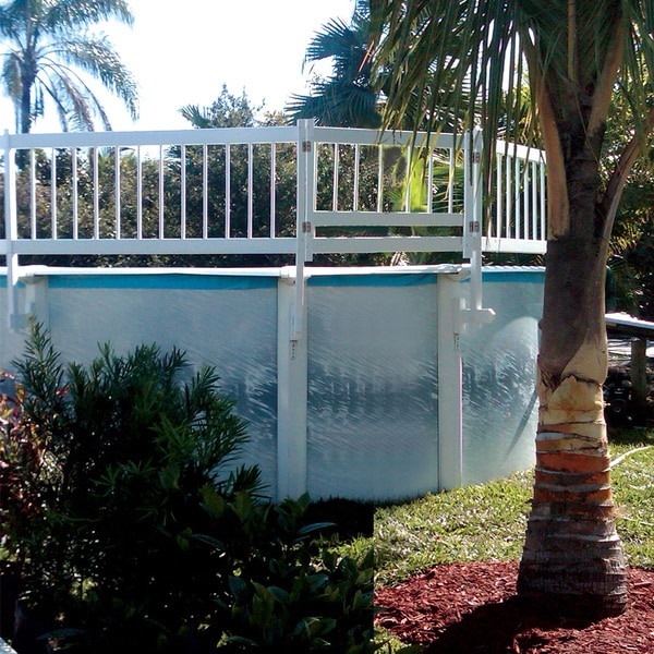 Shop Resin 24-inch Above-ground Pool Safety Gate - Free Shipping ...
