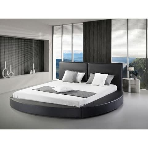 Greatime B1159 Queen Modern Round Bed