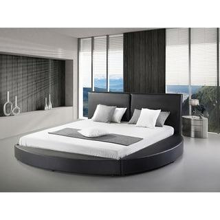 Greatime B1159 Queen-size Modern Round Platform Bed