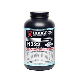 Hodgdon H322 Smokeless Rifle Powder 1 lb Container