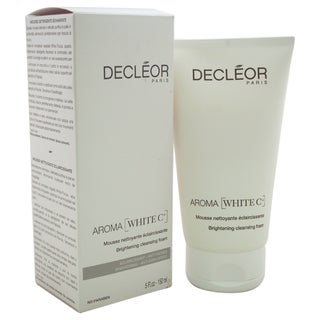 Decleor 5-ounce Aroma White C+ Brightening Cleansing Foam