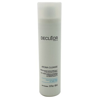 Decleor 3.3-ounce Aroma Cleanse 3-in-1 Hydra-Radiance Smoothing & Cleansing Mousse