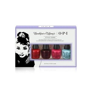OPI Breakfast at Tiffany's 4-count Mini Nail Lacquer Set