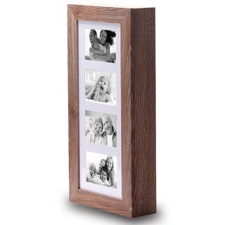 Ikee Design 12-inch-wide x 3.5-inch-deep x 23.5-inch-high Wall-mounted Photo Frame Display Jewelry Armoire