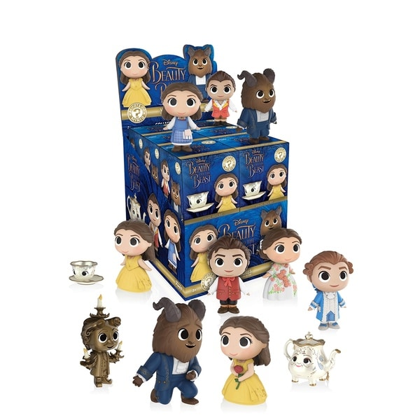 Funko Mystery Mini 'Beauty and the Beast' Live Action Movie Vinyl Figurines (Case of 12)