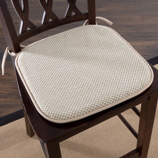 Windsor Home Memory Foam Chair Pad (Set of 2) (More options available)