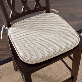 Windsor Home Memory Foam Chair Pad Set Of 2