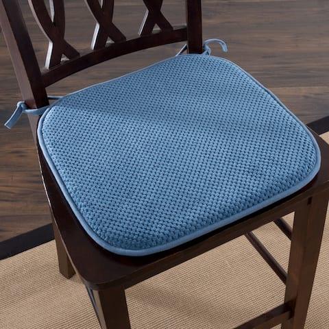 Windsor Home Memory Foam Chair Pad (Set of 2)