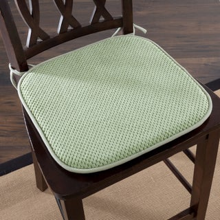 Windsor Home Memory Foam Chair Pad (Set of 2) (Option: Green)