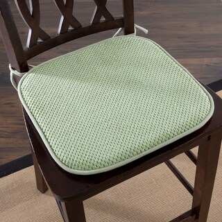 Windsor Home Memory Foam Chair Pad - Set of 2