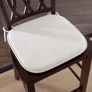 Windsor Home Memory Foam Chair Pad (Set of 2) (Option: Beige)