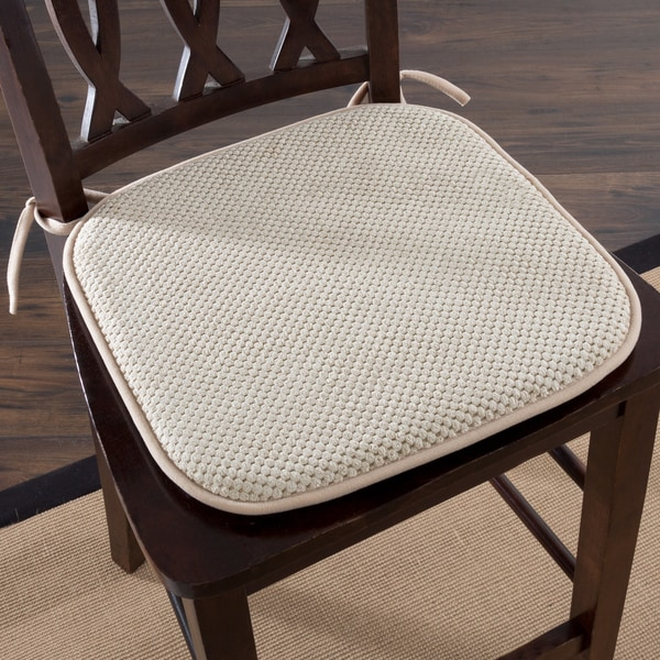 Shop Windsor Home Memory Foam Chair Pad Set Of 2 Free