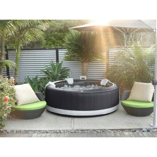 "MSpa Model Camero Hot Tub, 4 Person Inflatable Bubble Spa 71"" Size / M-031S"