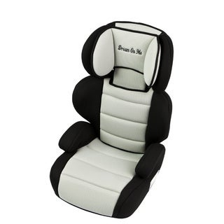 Dream On Me Black and Ivory Deluxe Booster Car Seat
