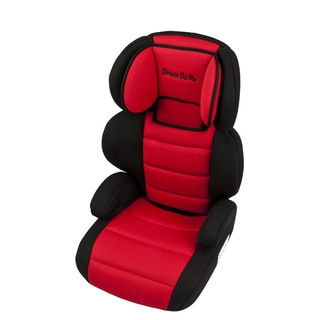 Dream On Me Red Deluxe Booster Car Seat