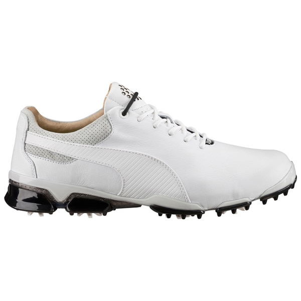 PUMA Titantour Ignite Premium Golf Shoes White/Gray/Black
