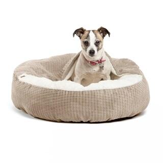 Best Friends by Sheri Cozy Cuddler Mason Dog Bed (Option: Wheat)