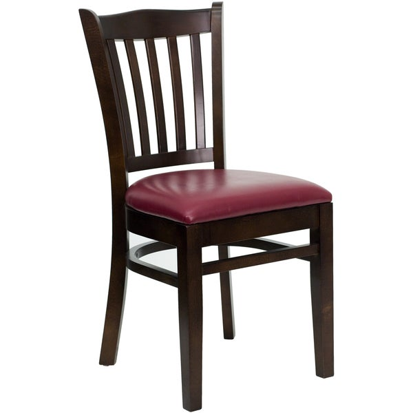 Burgundy Dining Room: Shop Riverdale Walnut Wood Burgundy Upholstered Classic