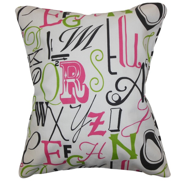 Scyler Typography Pink Chartreuse