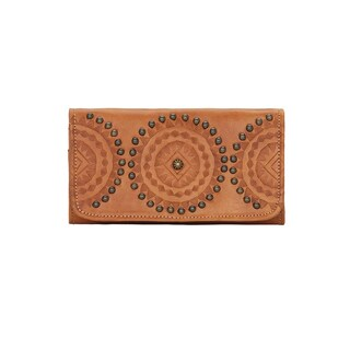 American West Kachina Spirit Tri Fold Wallet