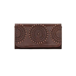 American West Kachina Spirit Tri-fold Wallet