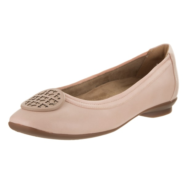 be128038d826 Shop Women s Clarks Candra Blush Ballet Flat Dusty Pink - Free ...