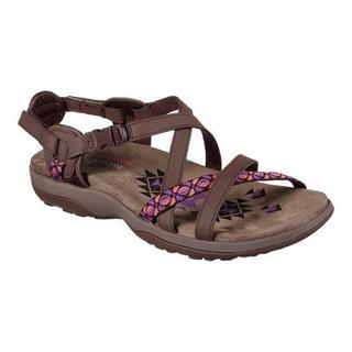 Women's Skechers Reggae Slim Vacay Sandal Chocolate (2 options available)
