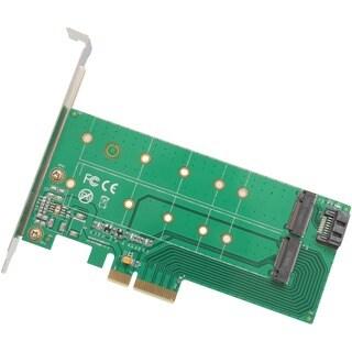 IO Crest PCI-Express 2.0 x4, 1x M.2 M-Key and 1x M.2 B-Key Card
