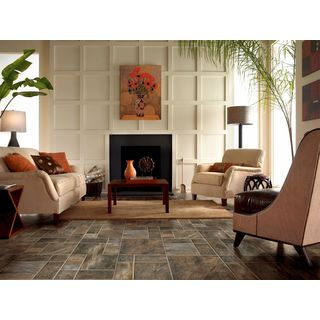 Limestone Laminate Flooring Pack (21.15 square feet per case pack)