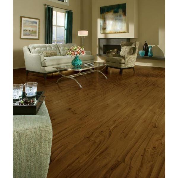 Laminate Wood Flooring Price Per Square Foot: Shop Armstrong Grand Illusions Laminate Flooring Pack (13