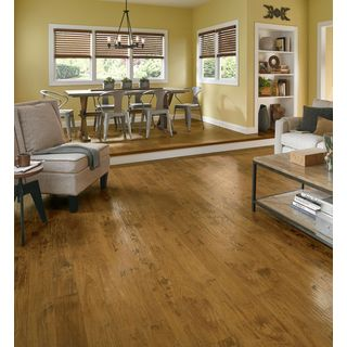 Armstrong Rustics Premium Faux Wood Laminate Flooring Pack (Case of 13.07 Square Feet)