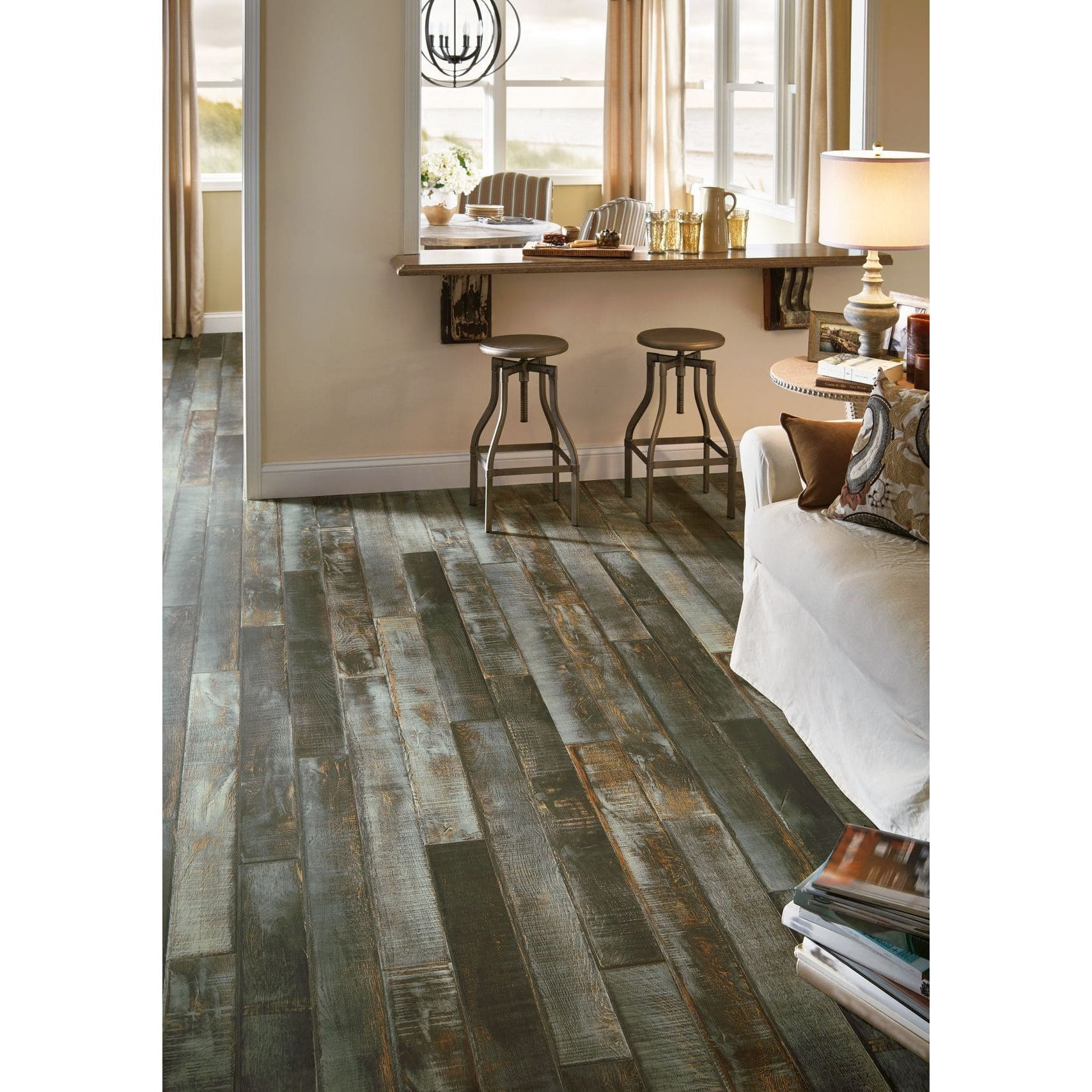 Laminate flooring for less for Granite remnant cost per square foot