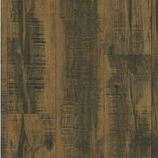 Armstrong Architectural Remnants Black, Beige, and Brown Laminate Flooring Pack (15.14 Square Feet Per Case Pack)