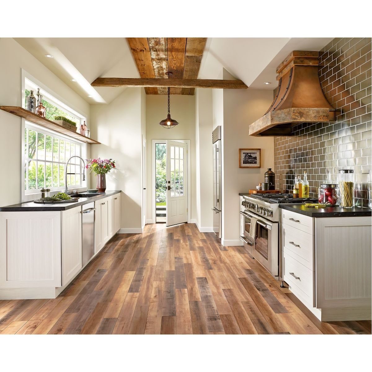 Armstrong Architectural Remnants Grey, Beige, and Brown L...