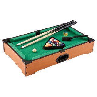 Mainstreet Classics Wood Table-top Billiards Set
