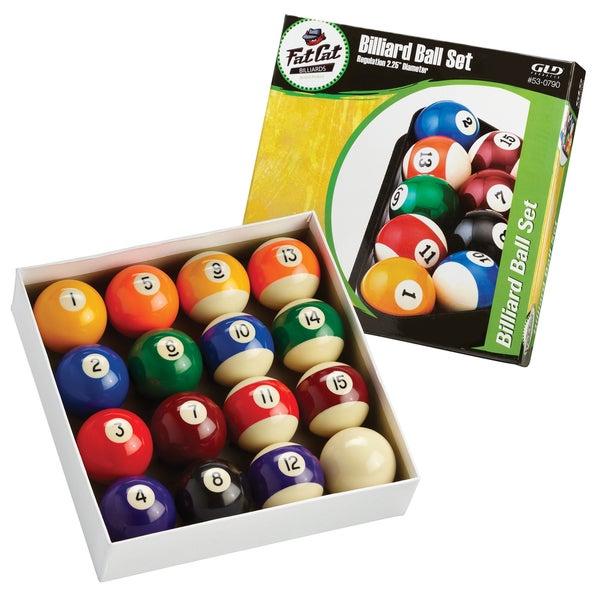 Fat Cat Plastic Billiard Ball Set