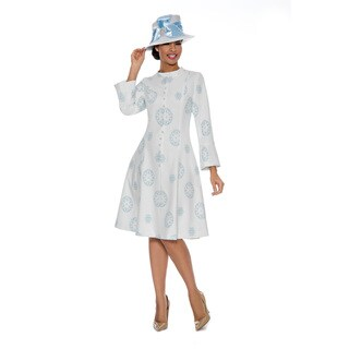 Giovanna Signature Women's Brocade A-line Dress