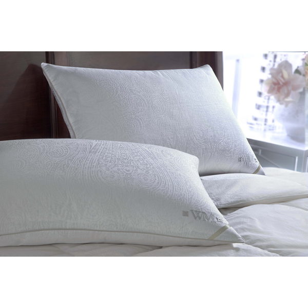 Wesley Mancini Collection Goose Down Side Sleeper Pillow - White