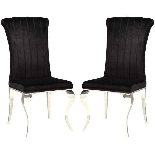 Shop Cabriole Design Stainless Steel With Black Velvet