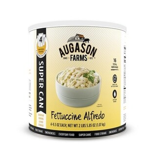 Augason Farms Fettuccine Alfredo 2 lbs 7 oz Super Can