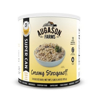 Augason Farms Creamy Stroganoff 2 lbs 0.5 oz Super Can (2 options available)