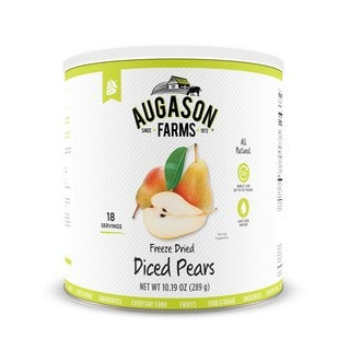 Augason Farms 10.19-ounce #10 Can Freeze-dried Diced Pears