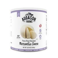 Augason Farms Freeze Dried Shredded Mozzarella Cheese 1 lb 14 oz No. 10 Can