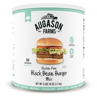Augason Farms 46-ounce #10 Can Gluten-free Black Bean Burger